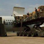 ნატოს თვითმფრინავები ზაპოროჟიეს აეროპორტში